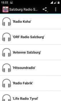 Salzburg Radio Stations poster