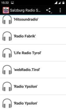 Salzburg Radio Stations apk screenshot
