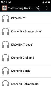 Mattersburg Radio Stations poster