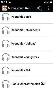Mattersburg Radio Stations apk screenshot