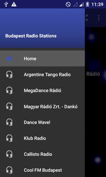Budapest Radio Stations poster