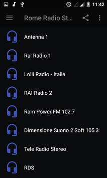 Rome Radio Stations screenshot 1