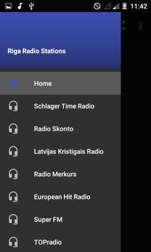 Riga Radio Stations poster