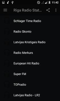 Riga Radio Stations screenshot 1