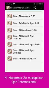 H. Muammar ZA (MP3) Puasa 2017 apk screenshot
