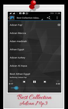 Best Collections Adzan Mp3 apk screenshot