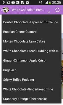 Cake and desserts apk screenshot