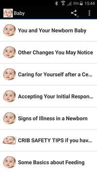 Newborn Care poster