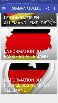 Grammaire allemande screenshot 3