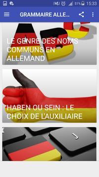 Grammaire allemande screenshot 2