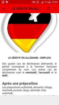 Grammaire allemande screenshot 5