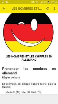 Grammaire allemande screenshot 6