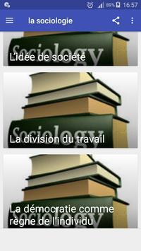la sociologie screenshot 2
