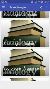 la sociologie screenshot 7