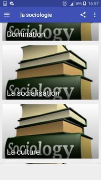 la sociologie screenshot 4