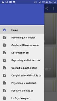 Psychologue Clinicien poster