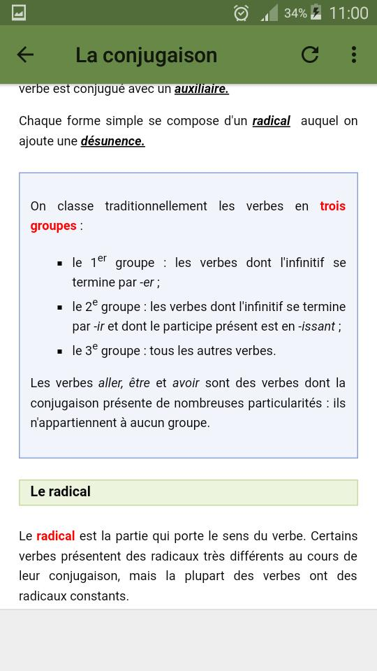 Grammaire Francaise For Android Apk Download
