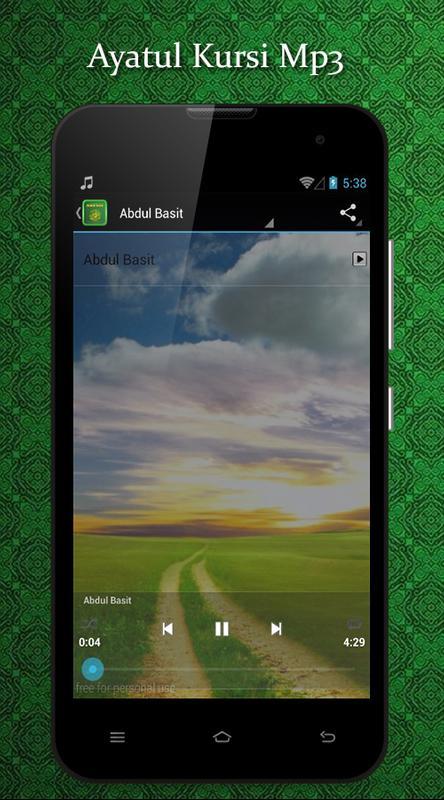 Ayatul kursi mp3 audio for android apk download.