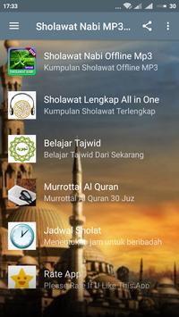 Kumpulan Sholawat Nabi MP3 screenshot 1