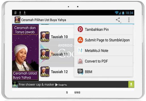 Ceramah Pilihan Ust Buya Yahya screenshot 18