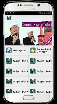 Ceramah Aa Gymnastiar Aa Gym poster