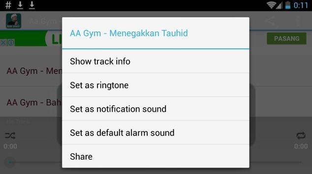 Ceramah Aa Gymnastiar Aa Gym apk screenshot