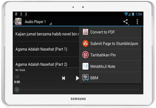 Habib Novel Muhammad Alaydrus apk screenshot
