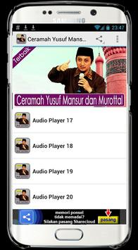 Ceramah Yusuf Mansur & Murotal poster