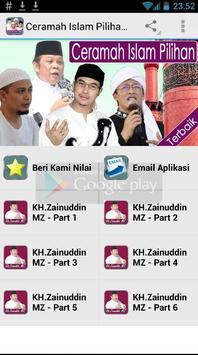 Ceramah Islam Pilihan Terbaik poster