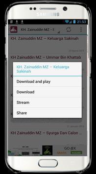 Ceramah Zainuddin MZ apk screenshot