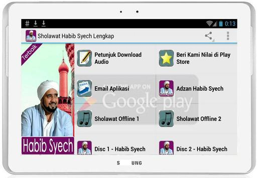 Sholawat Habib Syech Mp3 apk screenshot
