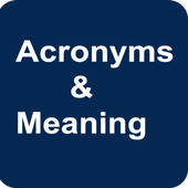 Acronyms and Meaning icon
