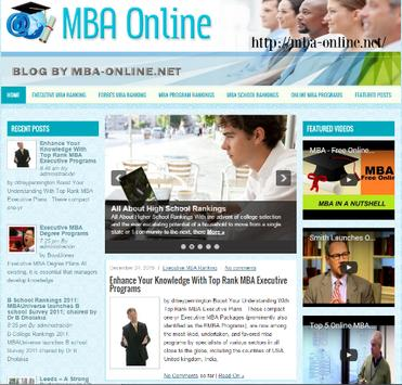 College Search MBA poster
