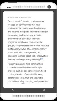 Peace corps information screenshot 1