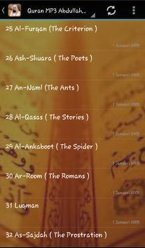 Abdullah Matrood Quran Audio screenshot 4