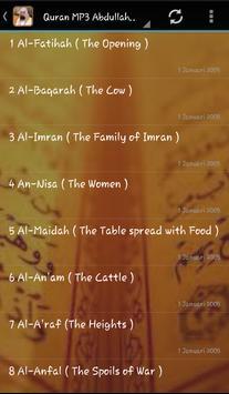 Abdullah Matrood Quran Audio screenshot 1