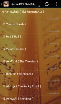 Abdullah Matrood Quran Audio screenshot 2