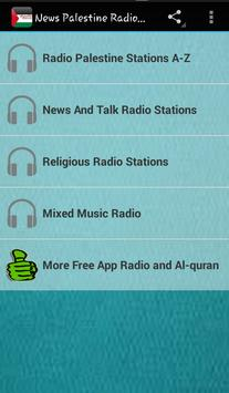 News Palestine Radio Audio poster