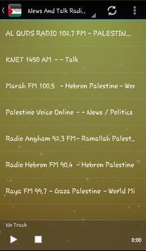 News Palestine Radio Audio screenshot 2