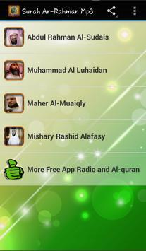 Surah Ar-Rahman Mp3 poster