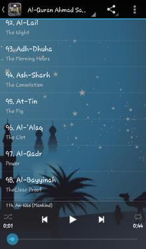 Ahmad Saud Al-Quran Mp3 apk screenshot