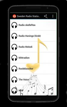 Sweden Radio Stations apk screenshot