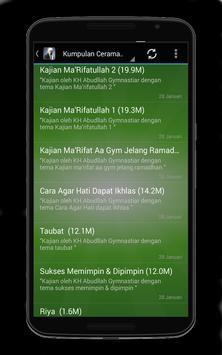 Ceramah Aa Gym Terbaik Mp3 apk screenshot