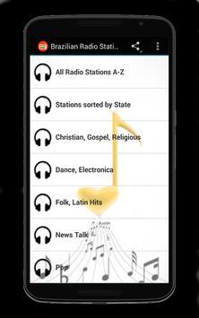 Brazilian Radio Stations poster