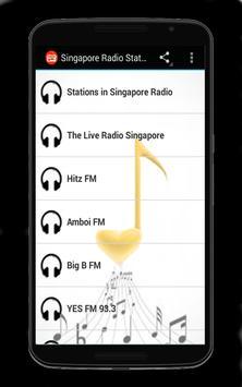 Singapore Radio Stations poster
