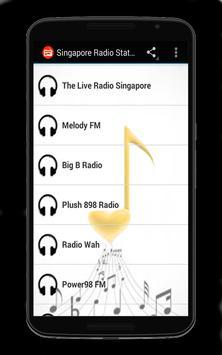 Singapore Radio Stations screenshot 1