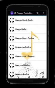 All Raggae Radio Stations poster