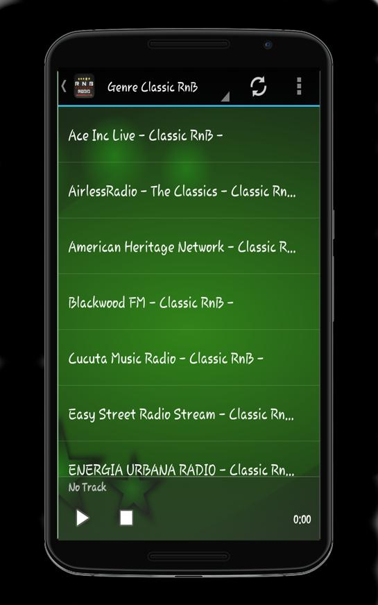 free rb radio stations on the internet