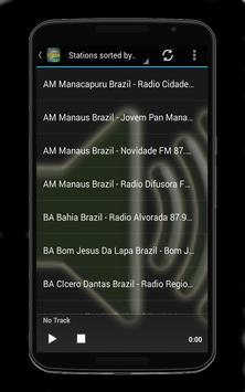 Brazilian FM Radio Stations screenshot 3