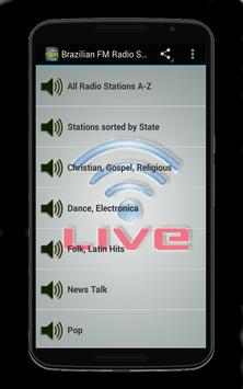 Brazilian FM Radio Stations poster